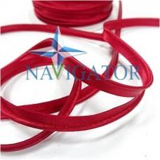 Кант атласный цвет красный, 10 мм