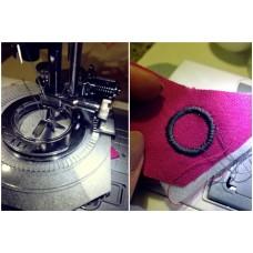 Лапка для вышивания круговых узоров и цветов