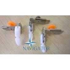 Лапка регулируемая для пришивания молний и выполнения строчек в край фторопластовая