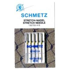 Иглы для трикотажа Schmetz Stretch № 65
