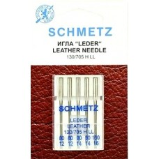 Иглы для кожи Schmetz Leather № 80-100 ассорти