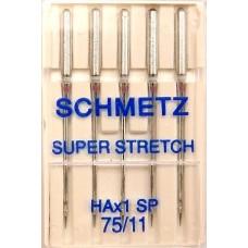 Иглы для трикотажа Schmetz Super Stretch № 75/11