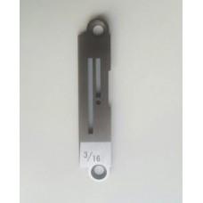 Игольная пластина E705 3/16 Siruba