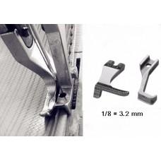 Лапка для отстрочки 1.6, 2.4, 3.2, 4.0, 4.8, 6.4 мм. Двойной транспорт
