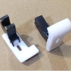 Лапка фторопластовая для обрезки края материала 4.8 мм, 6.4 мм