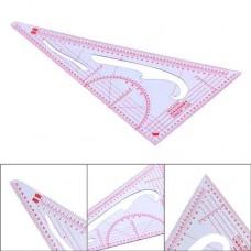 Лекало треугольник модельера-конструктора 3220