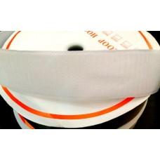 Лента липучка белая 5 см
