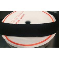 Лента липучка черная 5 см