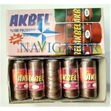 Нить капроновая AKBEL цвет серовато-коричневый