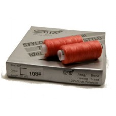 Нить Ideal цвета карминово-красный № 108