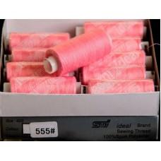 Нить Ideal цвет неоново-розовый № 555