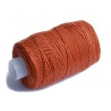 Нить джинсовая цвет морковный неон, № 148