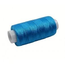 Нить джинсовая цвет насыщенный голубой, № 284