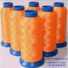 Нить светящаяся оранжевая 914 м