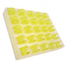 Органайзер с 25 шпулями Janome 200277084 (желтые)