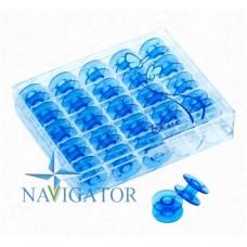 Органайзер с 25 шпулями Janome 200277084 (голубые)