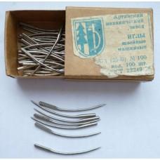 Иглы к швейным машинам производства Артинского механического завода, модель 0873, номер 100