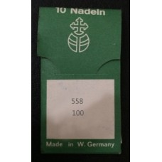 Иглы швейные Lammertz Needles 558 100