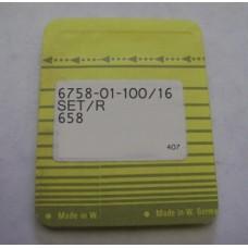 Иглы швейные 6758-01-100/16 Pfaff Needles