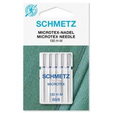 Иглы для микротекстиля Schmetz Microtex № 60
