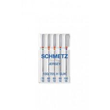 Иглы для трикотажа Schmetz Jersey № 70-100