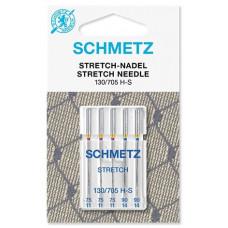 Иглы для трикотажа Schmetz Stretch № 75-90
