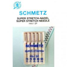Иглы для трикотажа Schmetz Super Stretch № 75-90