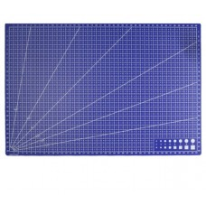 Макетный коврик для резки и рукоделия А3 синий