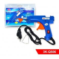 Клеевой пистолет 3K-Q506 Hot Melt GLUE Gun с выключателем, 20W