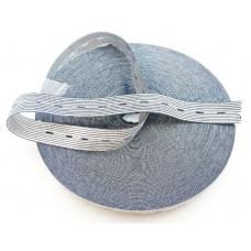 Резинка эластичная перфорированная в полоску 2 см