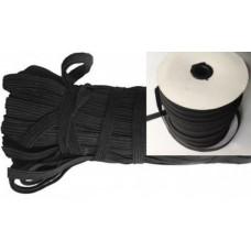 Резинка эластичная черная 5 мм на бобине