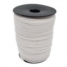 Резинка эластичная белая 3 мм на бобине (183 м)