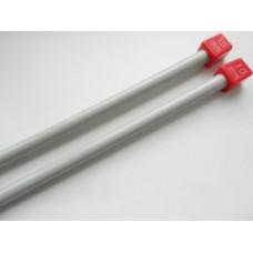 Спицы для вязания прямые металлические 10 мм
