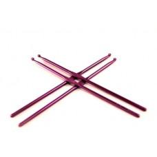 Алюминиевый крючок для вязания с цветным покрытием 2 мм