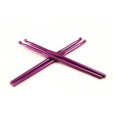 Алюминиевый крючок для вязания с цветным покрытием 5,5 мм
