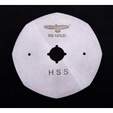 Лезвие дисковое RS-125(8) HSS для раскройных ножей
