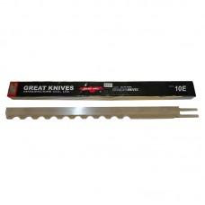 Лезвие 10EW волнистое  для раскройных вертикальных ножей сабельного типа