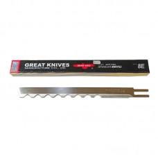 Лезвие 8EW волнистое  для раскройных вертикальных ножей сабельного типа