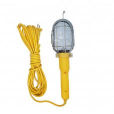 Автомобильный переносной светильник для СТО (переноска) 26 диодов с крюком 10 метров
