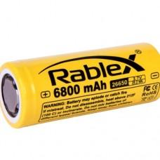 Аккумулятор Rablex 26650 6800 mAh Li-ION 3.7V