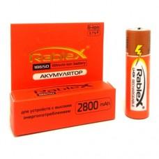 Аккумулятор Rablex 18650 Li-Ion 2800 mAh