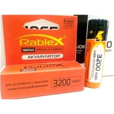Аккумулятор Rablex 18650 Li-Ion 3200 mAh