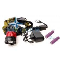 Фонарь WD101 налобный аккумуляторный светодиодный