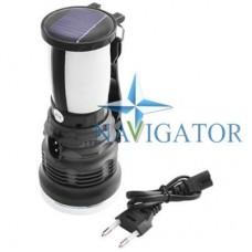 Многофункциональный аккумуляторный фонарь YAJIA YJ-2891T с солнечной панелью