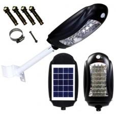 Уличный LED светильник CcLamp CL-170 с встроенной солнечной панелью и датчиком движения