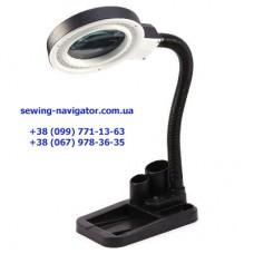Настольная увеличительная лампа лупа на 40 светодиодов