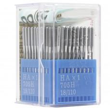 Бытовые швейные иглы Dotec HAx1, 705H 18/110 100 шт.