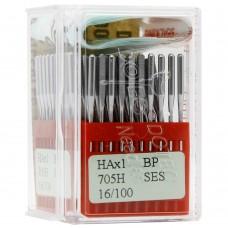 Бытовые швейные иглы Dotec HAx1, BP SES 705H 16/100 100 шт.