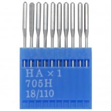 Бытовые швейные иглы Dotec HAx1, 705H 18/110 10 шт.