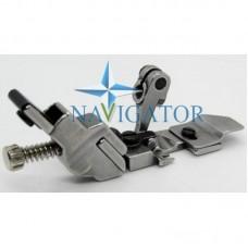 Лапка 208525 на 4-х ниточный оверлок для настрачивания резинки с растяжением, серия F